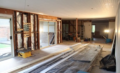 Image of home renovation in progress