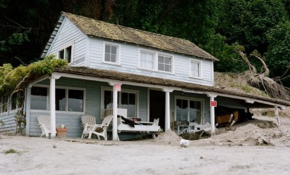 Image of a Hamtons Style Beach Home