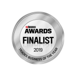 Logo for the 2019 Business Awards Finalists